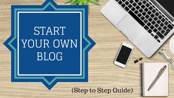 Start your own Blog in 30 Minutes